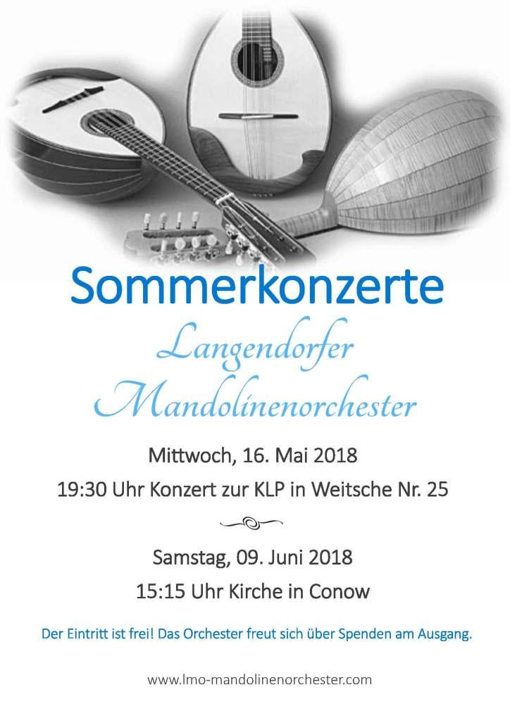 Sommerkonzerte 2018-2